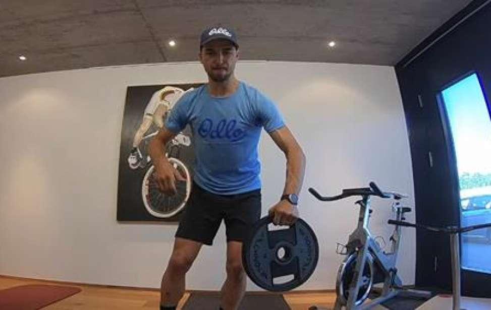 Bikers Rio pardo | Notícia | Sessão de treino do Nino Schuter. E você conseguiria treinar assim?