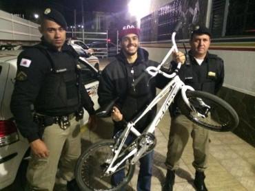 Bikers Rio Pardo   NOTÍCIAS   Atleta Olímpico Renato Rezende recupera bicicleta após furto em Poços de Caldas