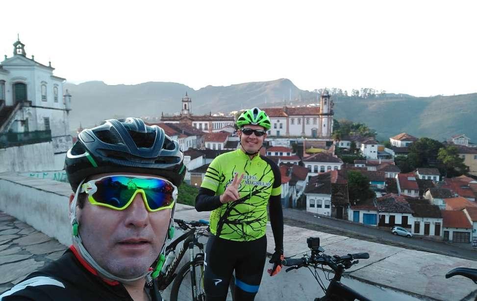 Bikers Rio pardo | Roteiro | Ciclistas riopardenses na Estrada Real