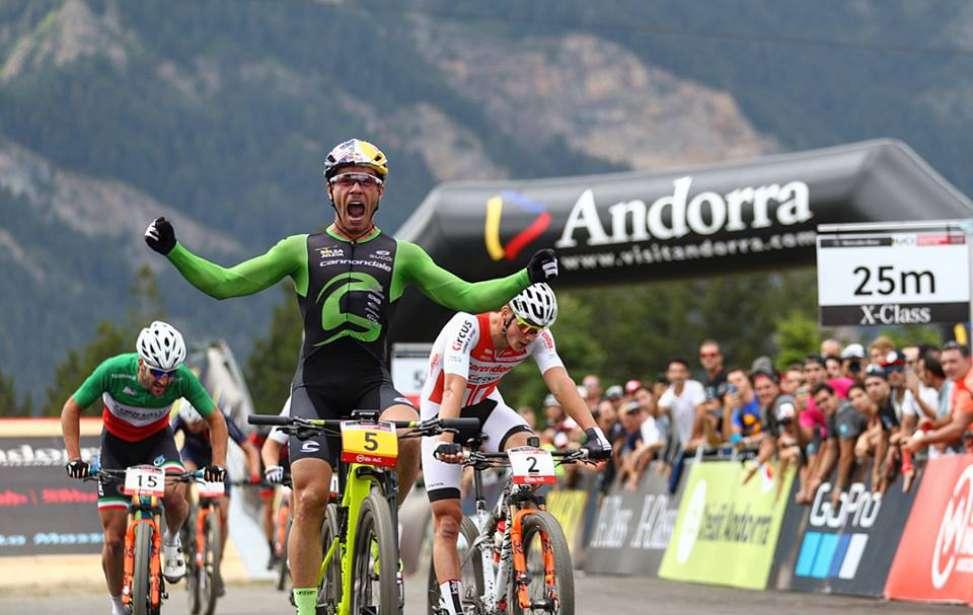 Bikers Rio Pardo | Notícia | Avancini volta a fazer história e vence prova da Copa do Mundo de MTB em Andorra