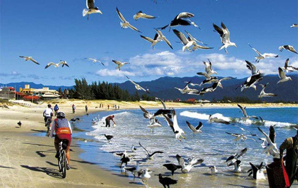 Bikers Rio pardo | Roteiro | 2 | Rota das Baleias: um pedal de Imbituba a Floripa