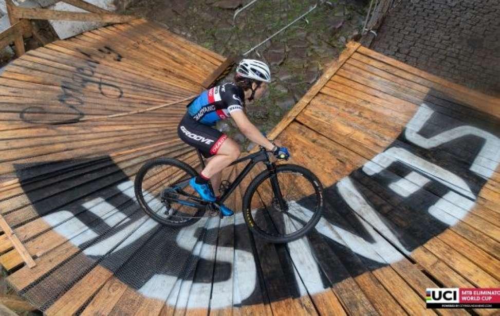 Bikers Rio pardo | Notícia | Brasileira Marcela Lima e holandês Jeroen Can ECK são campeões da Copa da Mundo de Eliminator