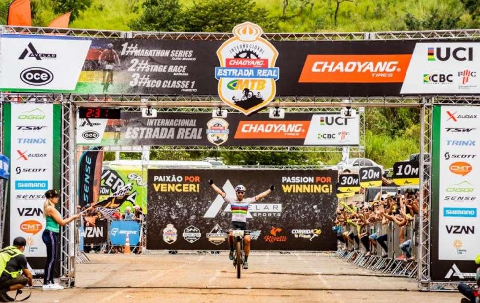Bikers Rio Pardo | Notícia | Maratona Internacional Estrada Real 2019 #1 - Ouro Branco - Avanicini é campeão