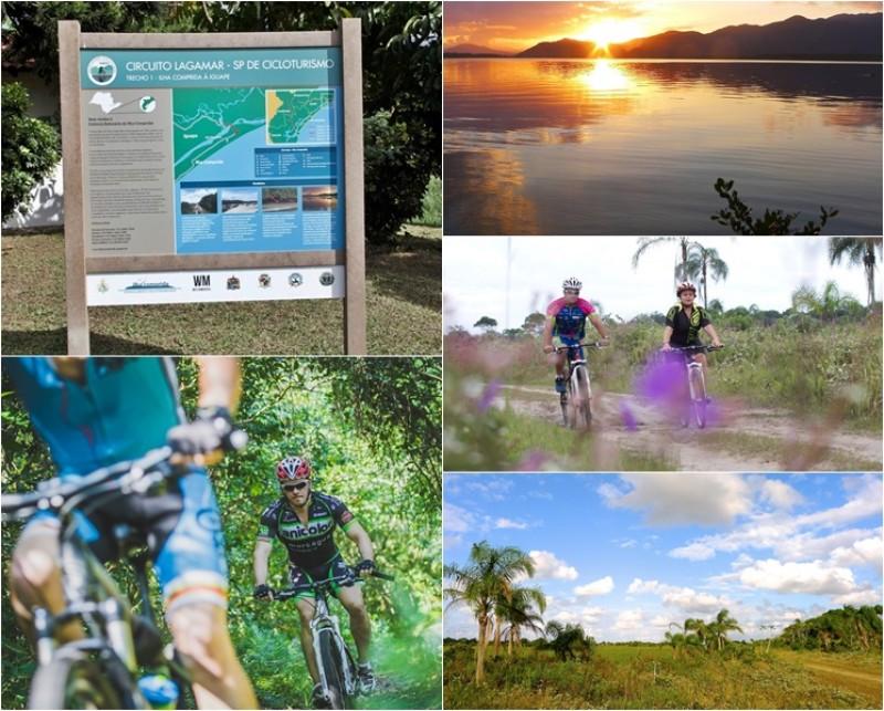 Bikers Rio pardo | Roteiro | Imagens | Pedalar por praias amplas e desertas atrai turistas ao Circuito de Lagamar