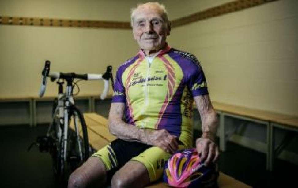 Bikers Rio pardo | Notícia | 2 | Aos 106 anos de idade, Robert Marchand pendura as sapatilhas