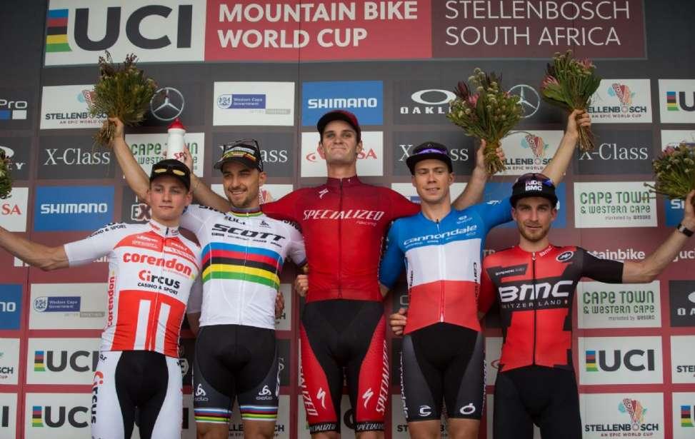 Bikers Rio Pardo | NOTÍCIAS | Copa do Mundo de MTB XCO 2018 - Gaze quebra hegemonia de Nino Schurter