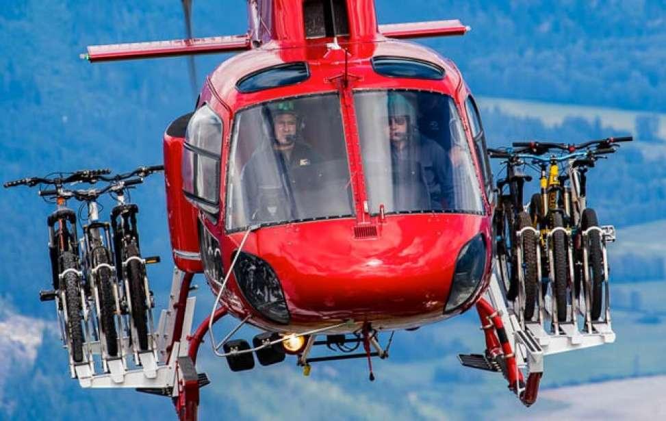 Bikers Rio Pardo | NOTÍCIAS | Você já viu um helicóptero transportando bicicletas?