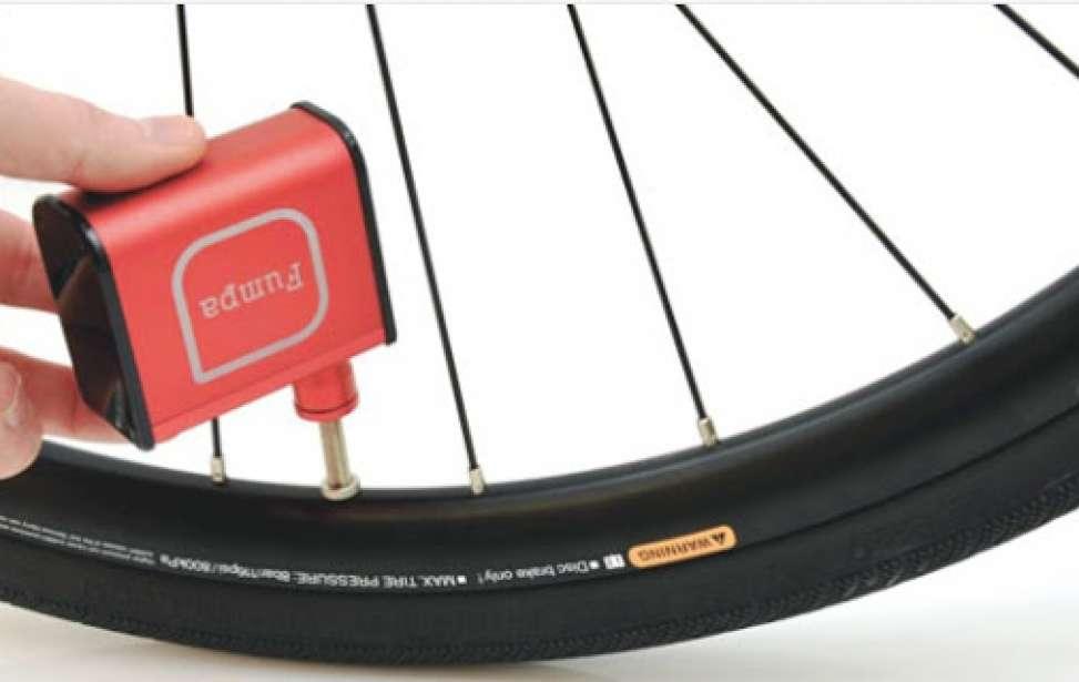 Bikers Rio pardo | Notícia | Conheça o FUMPA - o compressor para pneus de bikes mais compacto do planeta!