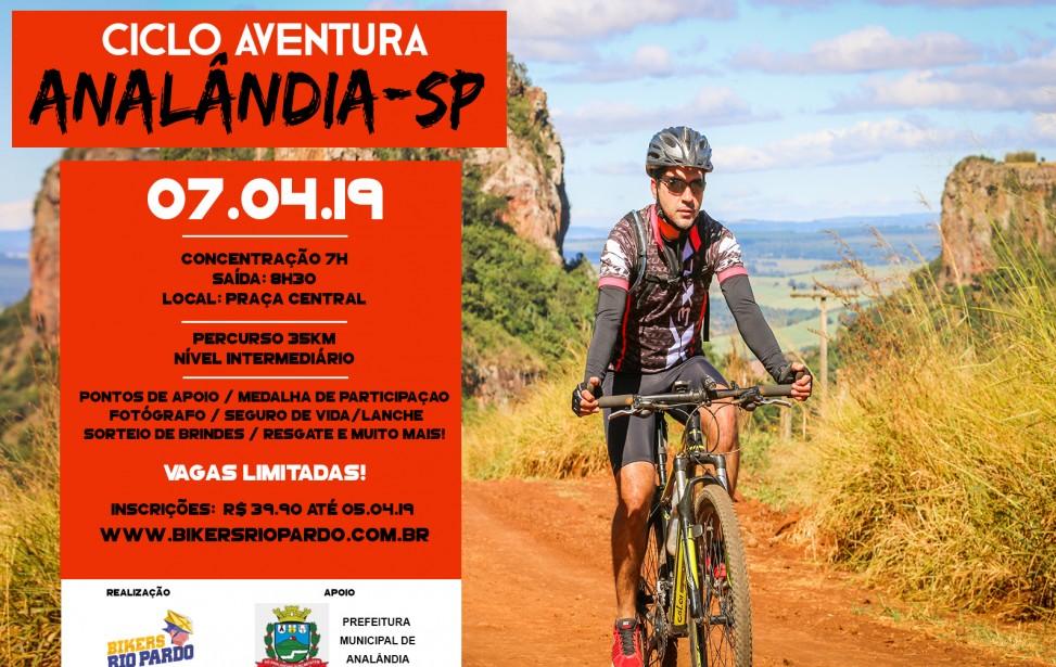Bikers Rio pardo   Ciclo Aventura   2º CICLO AVENTURA - ANALÂNDIA-SP