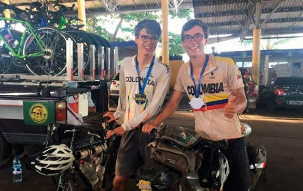 Bikers Rio pardo | SUA HISTÓRIA | Alemães realizam sonho de conhecer a Amazônia pedalando