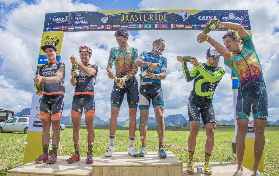 Bikers Rio Pardo | NOTÍCIAS | Segunda etapa da Brasil Ride tem vitória e liderança dos portugueses Tiago Ferreira e José Silva