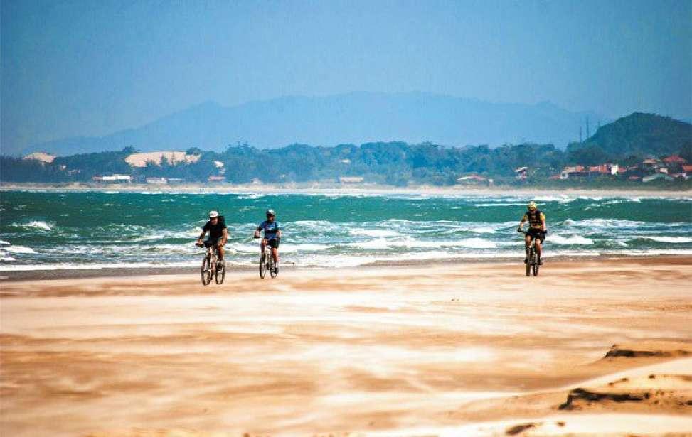 Bikers Rio pardo | Roteiro | 3 | Rota das Baleias: um pedal de Imbituba a Floripa