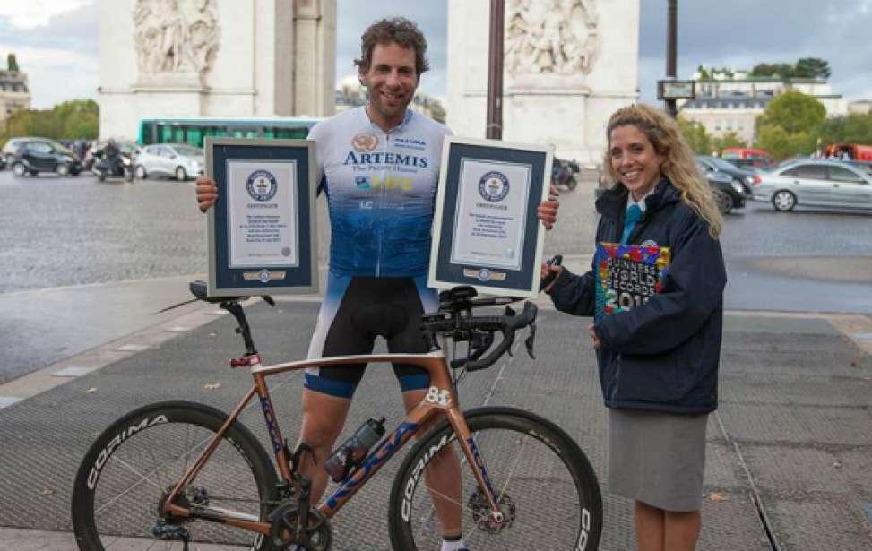 Bikers Rio Pardo | SUA HISTÓRIA | Britânico dá volta ao mundo de bike em 79 dias e quebra recorde