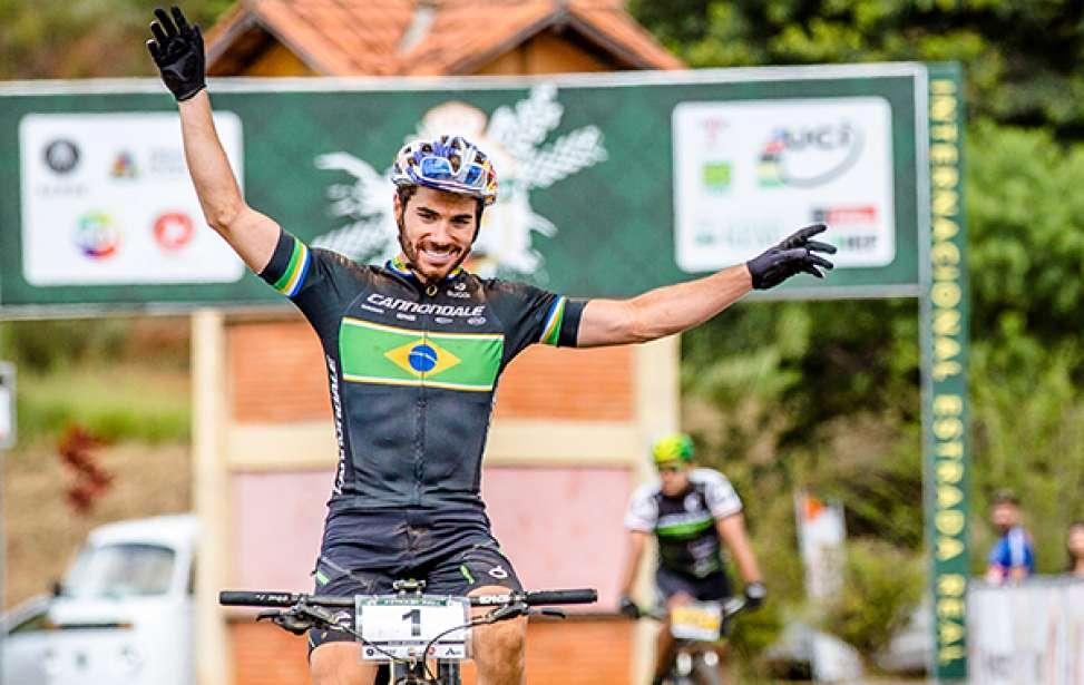 Bikers Rio pardo | Notícias | Avancini vence 1ª Maratona Internacional Estrada Real de MTB