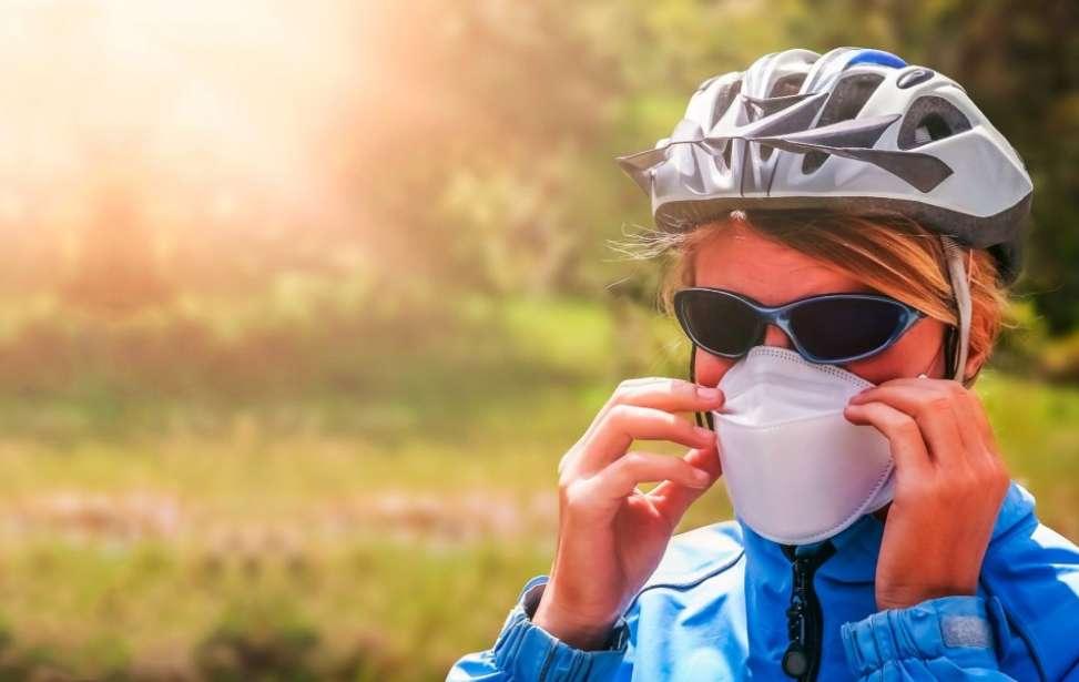 Bikers Rio Pardo | Notícia | A máscara não afeta o desempenho ao pedalar em baixa intensidade