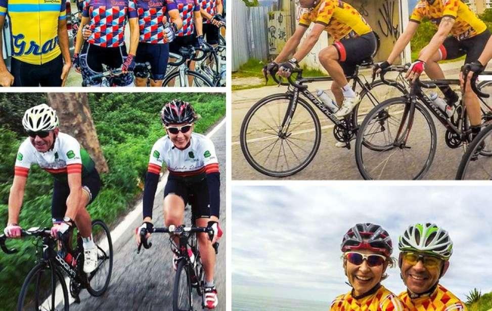 Bikers Rio pardo | SUA HISTÓRIA | 3 | Dos treinos de bike para o altar: casal se conhece pedalando e troca alianças