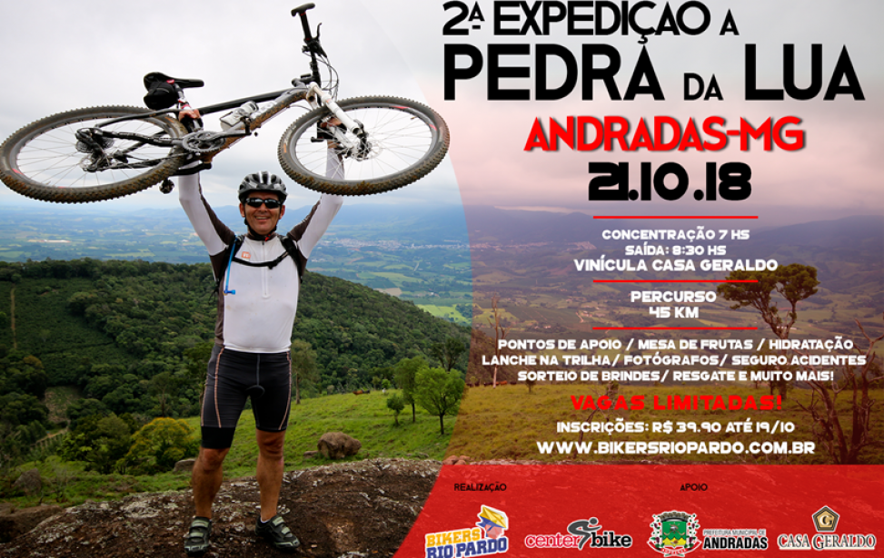 Bikers Rio pardo | Ciclo Aventura | 2 | 2ª EXPEDIÇÃO A PEDRA DA LUA