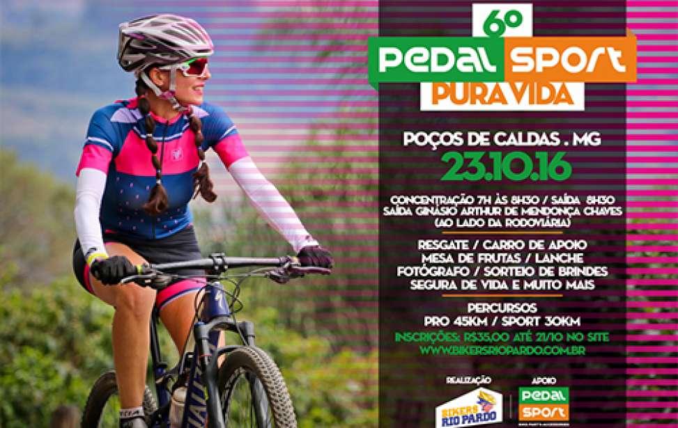 Bikers Rio pardo | Fotos | 6º Pedal Sport Pura Vida - Poços de Caldas-MG