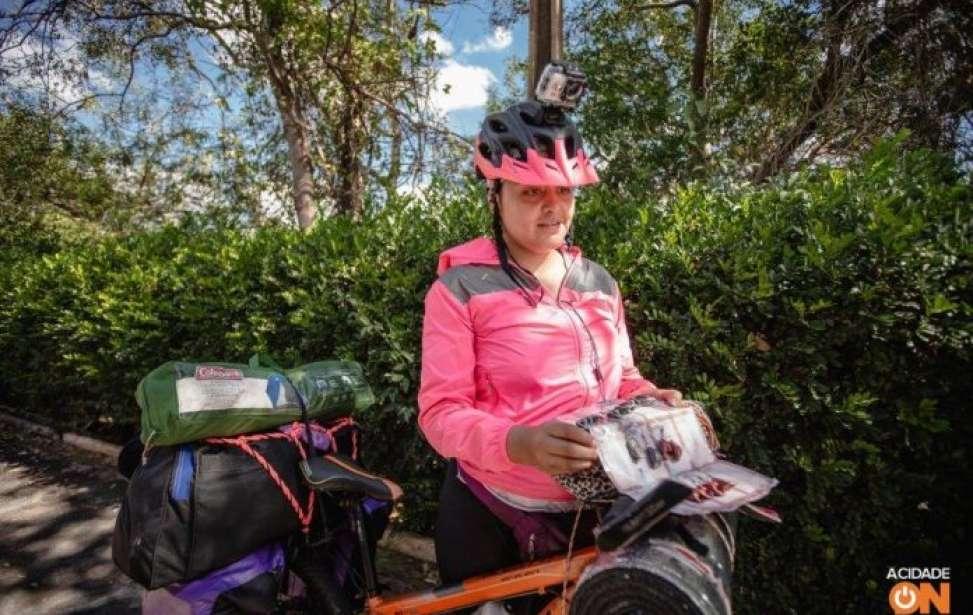 Bikers Rio Pardo | SUA HISTÓRIA | Mulher pedala da Colômbia ao Brasil para assistir à Copa América