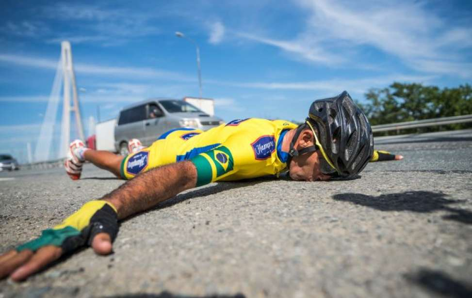 Bikers Rio Pardo | Notícia | E-catador de tatinhas quer bater record da maior prova de ultraciclismo