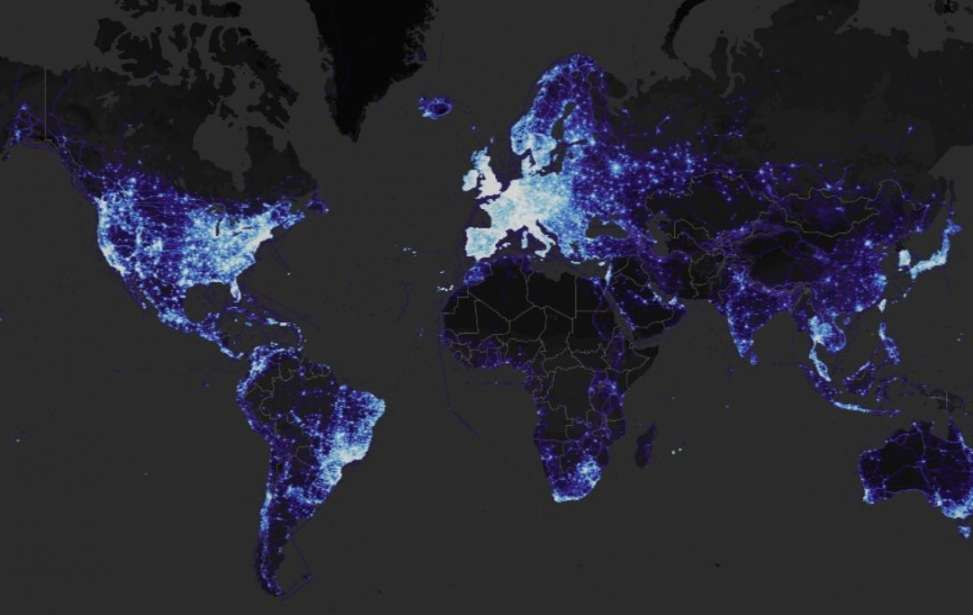 Bikers Rio Pardo | NOTÍCIAS | Strava apresenta novo mapa global com mais de um bilhão de atividades