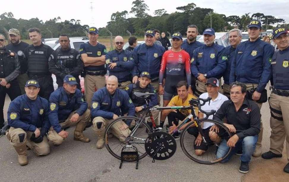 Bikers Rio pardo | Notícia | Ciclista quebra recorde mundial e atinge 202 km/h na BR-277