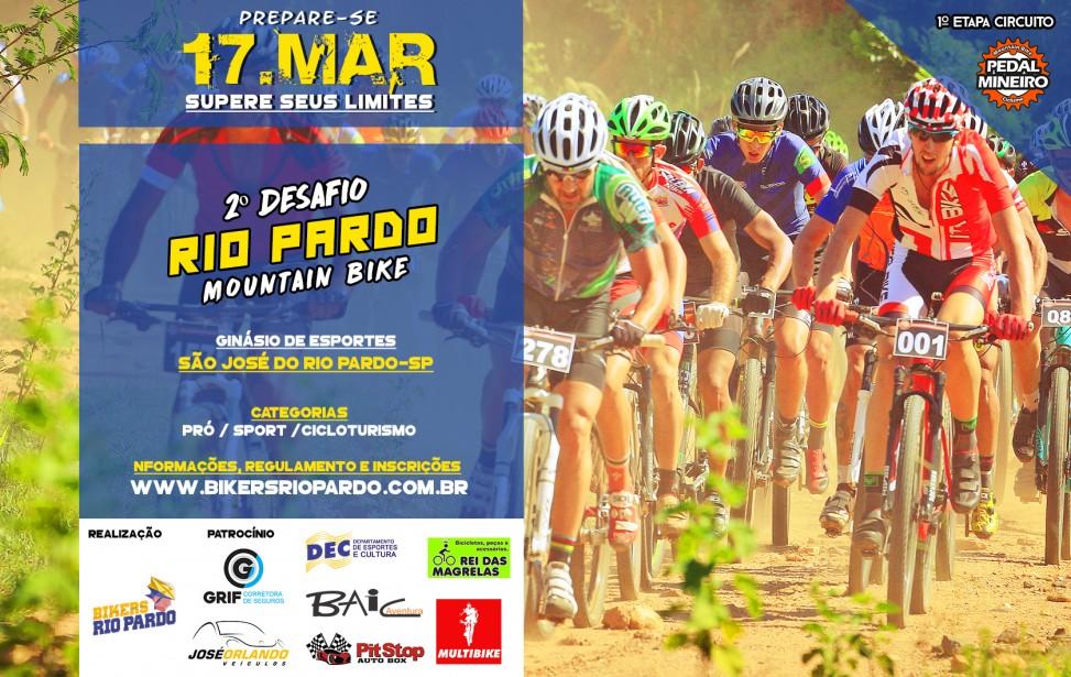 Bikers Rio pardo | Eventos Competitivos | 2º DESAFIO RIO PARDO DE MTB