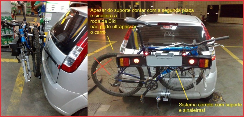 Bikers Rio pardo | Notícia | Imagens | Novas regras para o transporte de bicicleta