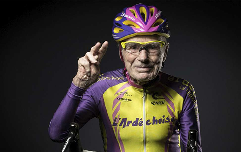 Bikers Rio Pardo | NOTÍCIAS | Aos 106 anos de idade, Robert Marchand pendura as sapatilhas