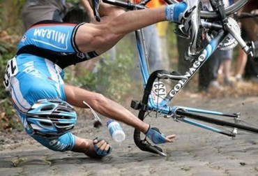 Bikers Rio pardo | Artigo | Cair de bike, como se machucar menos