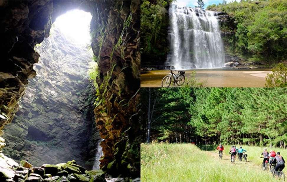 Bikers Rio pardo | Roteiro | O Buraco do Padre e a Cachoeira da Mariquinha