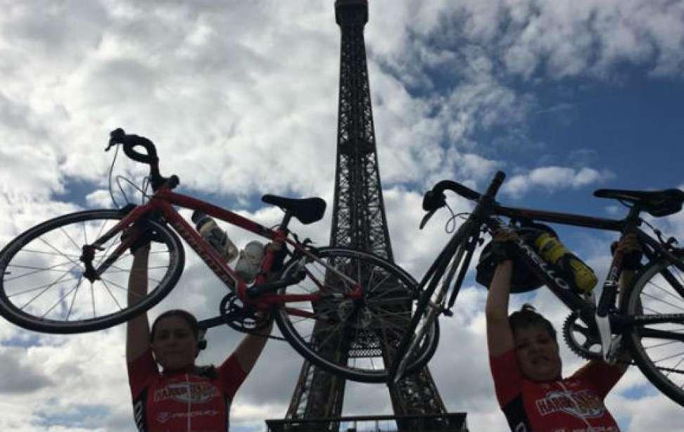 Bikers Rio Pardo | SUA HISTÓRIA | Menino de 9 anos pedala de Londres a Paris em 3 dias