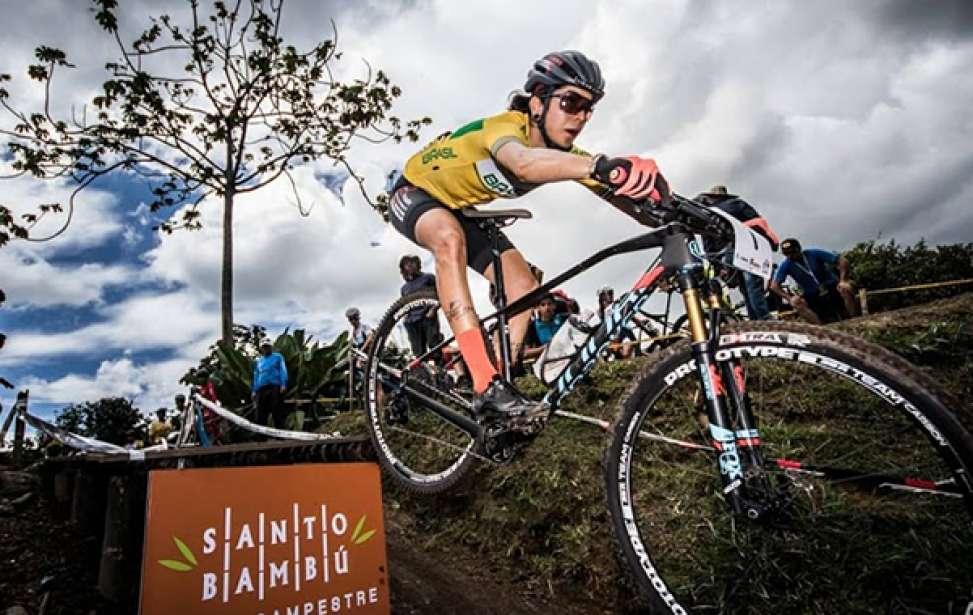 Bikers Rio pardo | Notícia | 2 | Pan-Americano de MTB: ouro para o Brasil com Cocuzzi e Raiza