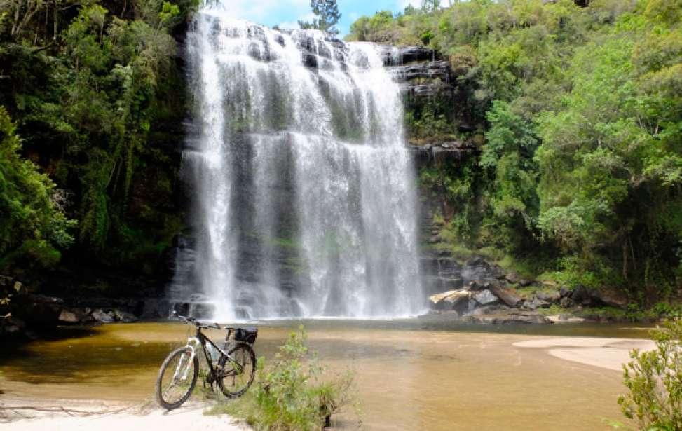 Bikers Rio pardo | Roteiro | 2 | O Buraco do Padre e a Cachoeira da Mariquinha
