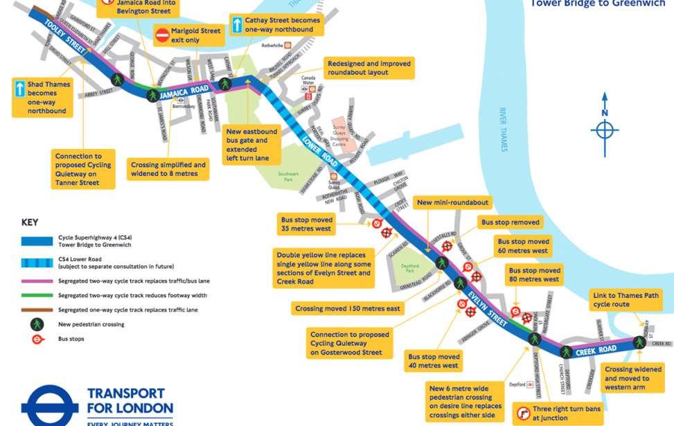Bikers Rio Pardo | NOTÍCIAS | Londres vai construir mais uma superestrada para bicicletas