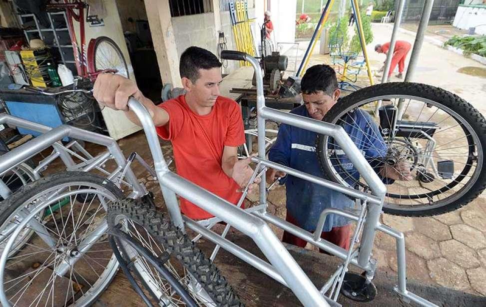 Bikers Rio pardo | Notícias | Bicicletas viram cadeiras de rodas em presídio mineiro