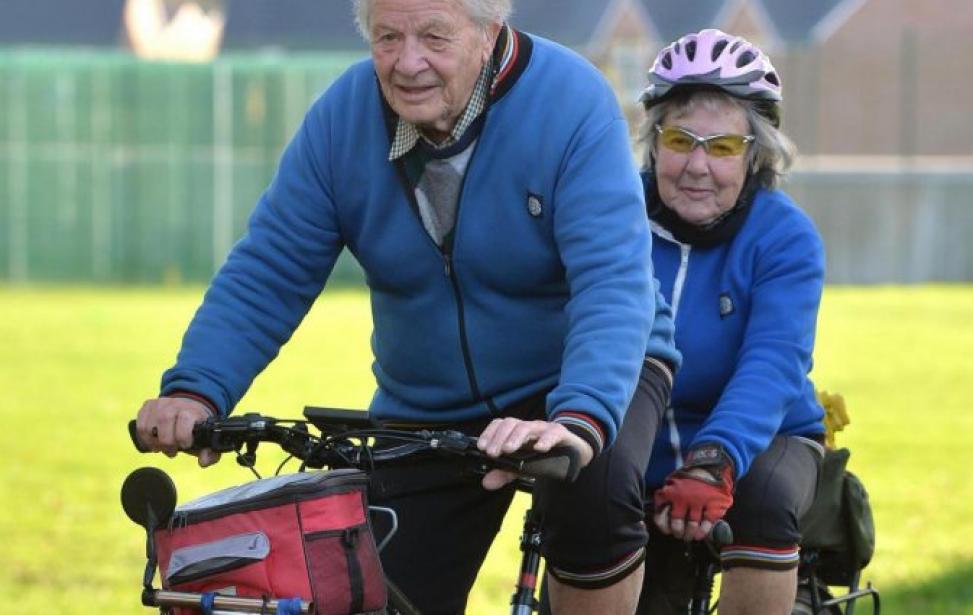 Bikers Rio Pardo | SUA HISTÓRIA | Conheça do casal que pedala juntos há 69 anos