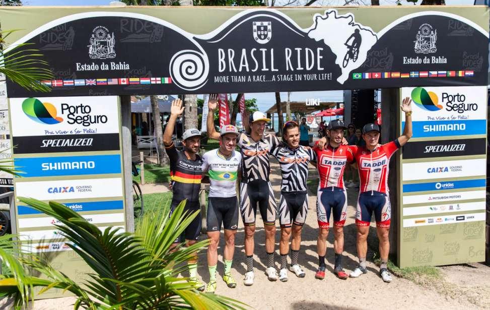 Bikers Rio pardo | Notícia | 2 | Líderes Avancini e Fumic fazem marcação cerrada a Ferreira e Becking na quinta etapa da Brasil Ride
