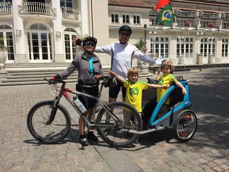 Bikers Rio pardo | Dica | Imagens | Como é possível incluir filhos pequenos em viagens e expedições