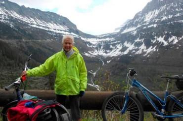 Bikers Rio Pardo | SUA HISTÓRIA | Aos 78 anos, americana já viajou 16.000 km de bicicleta