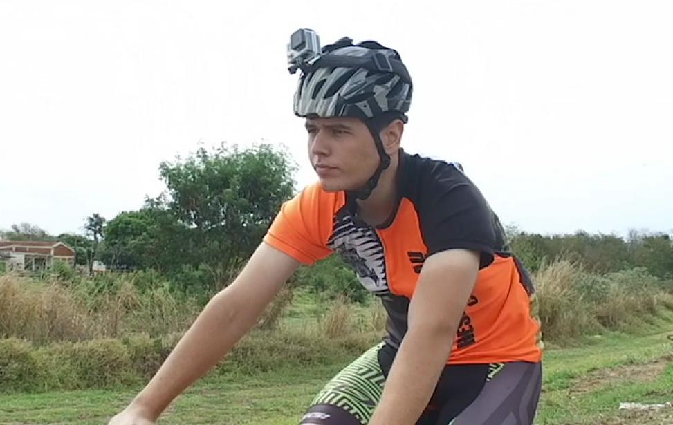 Bikers Rio pardo   SUA HISTÓRIA   Após preocupação com alergia, estudante vira ciclista, entra na dieta e emagrece 30kg