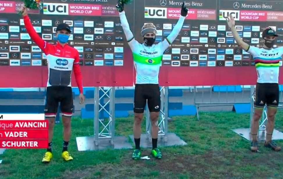 Bikers Rio pardo | Notícia | Copa do Mundo de MTB 2020 #2 - NOVE MESTO - Avancini vence XCO e faz história