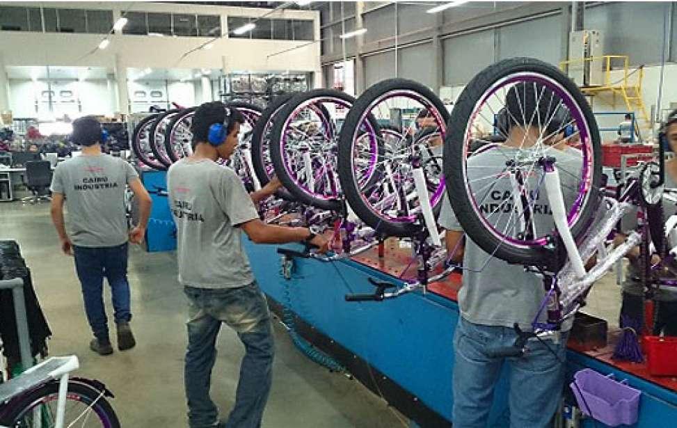 Bikers Rio pardo | Notícia | Produção de bicicletas cresce em setembro, mas apresenta queda no acumulado do ano