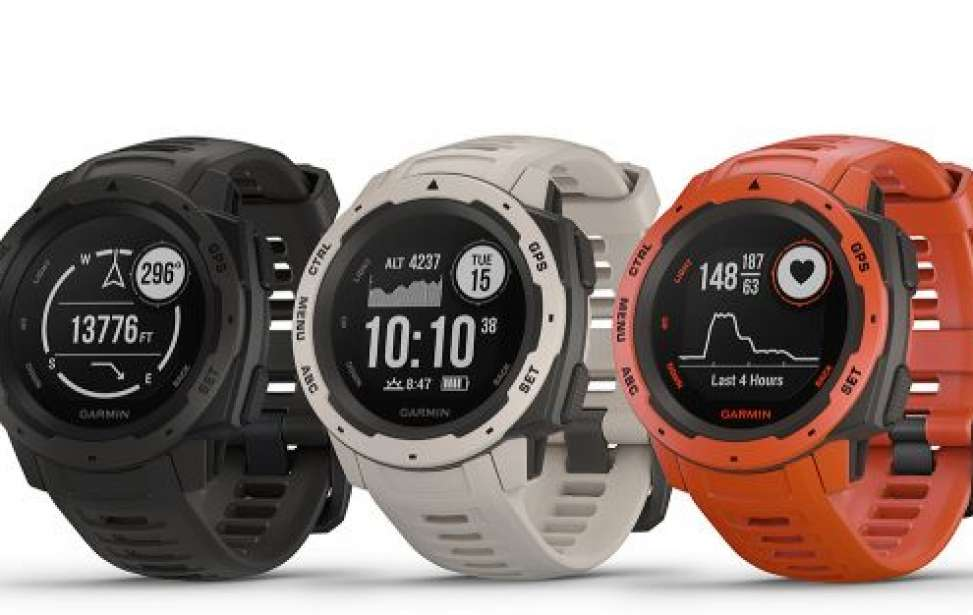 Bikers Rio pardo | Notícia | Garmin® InstinctTM: um smartwatch robusto com GPS projetado para uso multiesporte